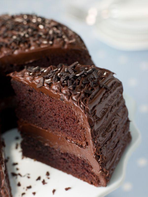 Succulent gâteau au chocolat1
