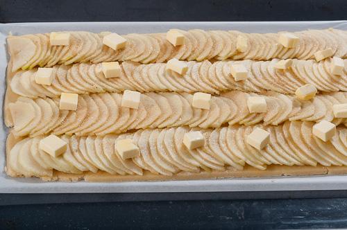 Tarte fine aux pommes caramélisées2
