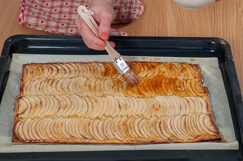 Tarte fine aux pommes caramélisées3