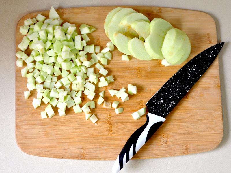 Tresse Briochée aux Pommes2