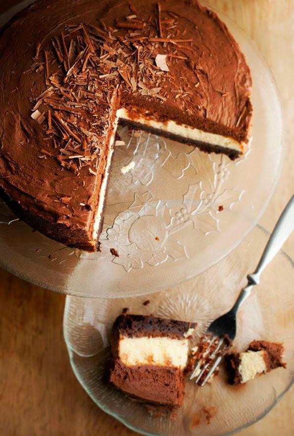 Brownie Cheesecake à la Mousse au Chocolat1