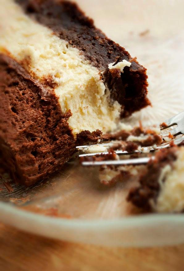 Brownie Cheesecake à la Mousse au Chocolat2