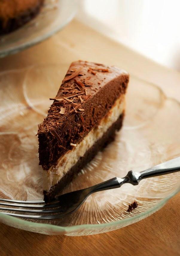 Brownie Cheesecake à la Mousse au Chocolat3