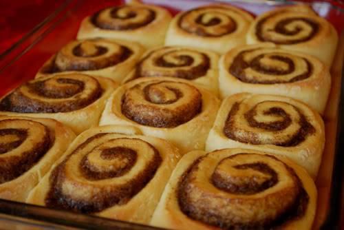 Cinnamon rolls ou roulés à la cannelle