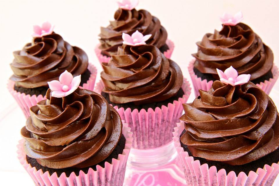 Cup Cake Chocolat Poudre