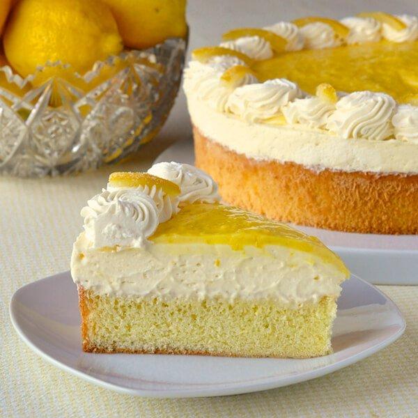 Low Calorie Lemon Cake