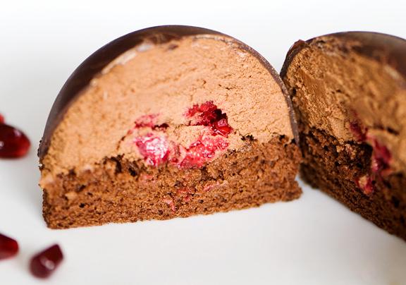 Dôme mousse au chocolat6