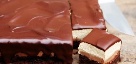 Carrés au chocolat, café et crème au mascarpone 1