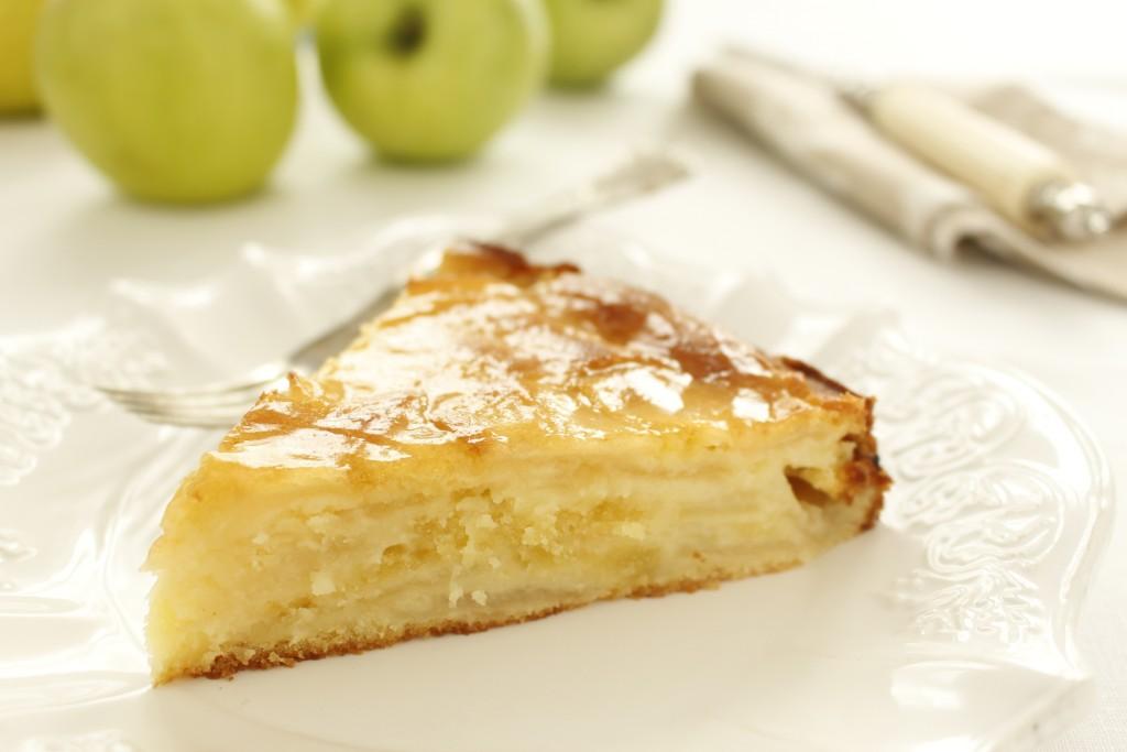 Gâteau aux pommes de grand mère2
