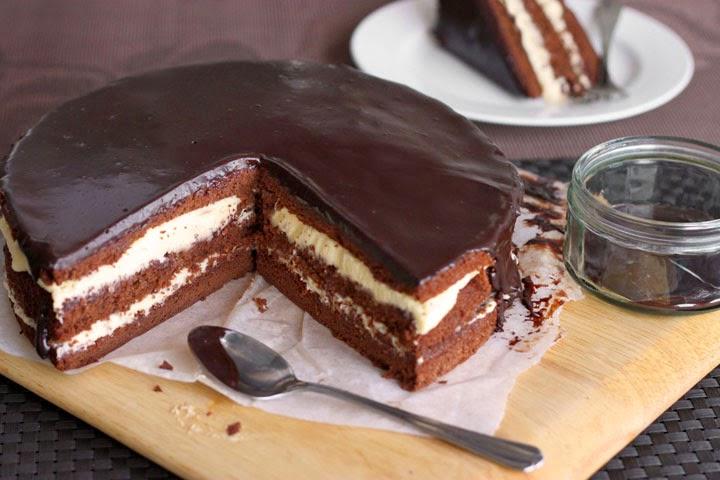 Gâteau trois chocolats1