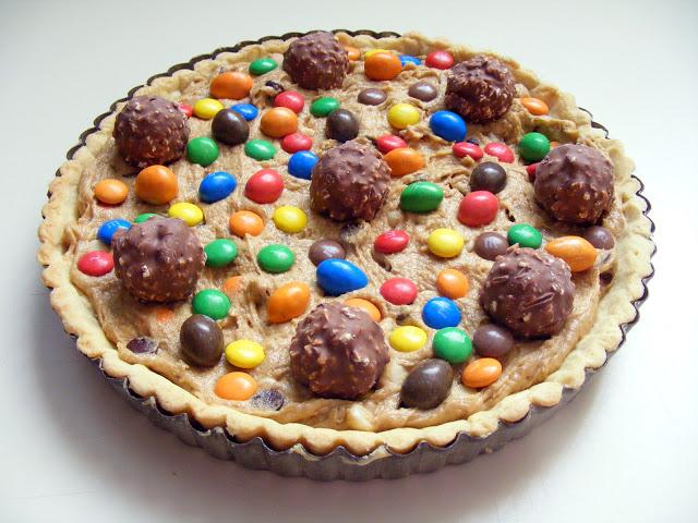 La tarte cookies aux pépites de chocolat et M&Ms4