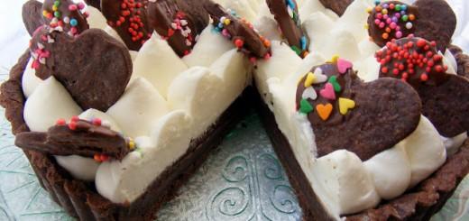 Tarte chocolat et crème2