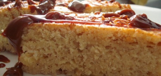 Cake au yaourt et à la confiture de lait