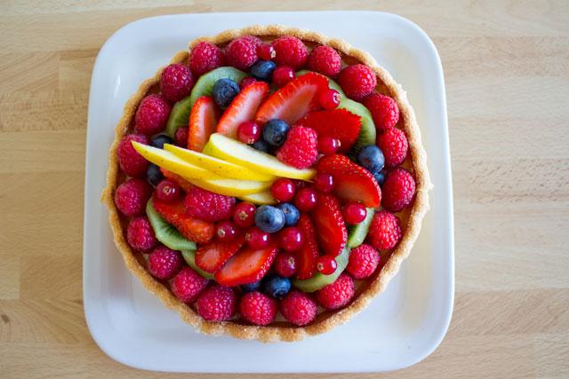 Charlotte aux fruits14