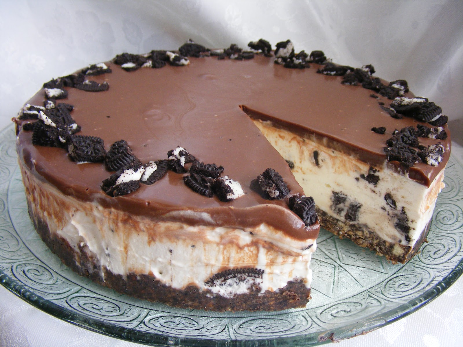 Cheesecake oreo sans cuisson et sans g latine g teaux d lices - Cheesecake sans cuisson speculoos ...