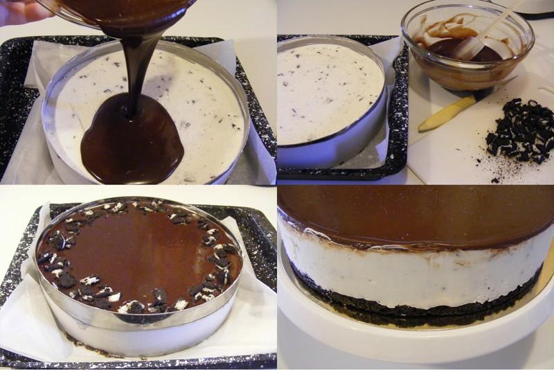 Cheesecake OREO sans cuisson et sans gélatine3