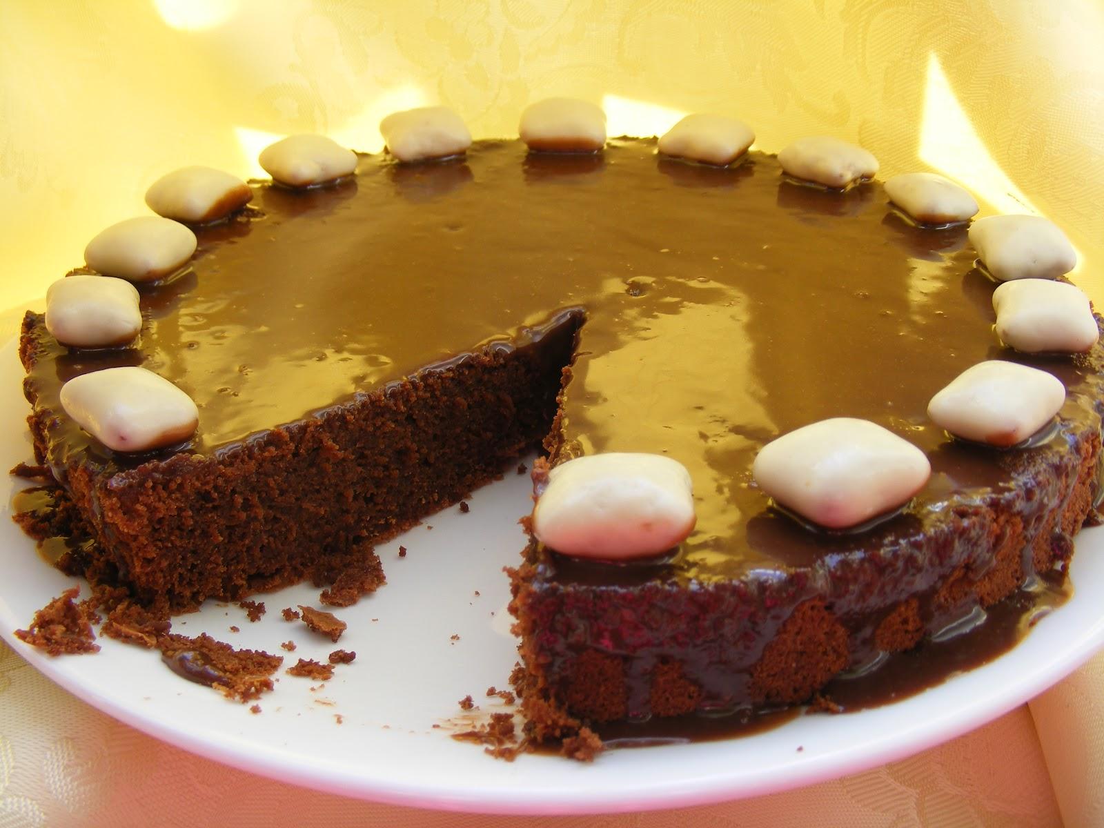 Gâteau au chocolat simplement divin!1