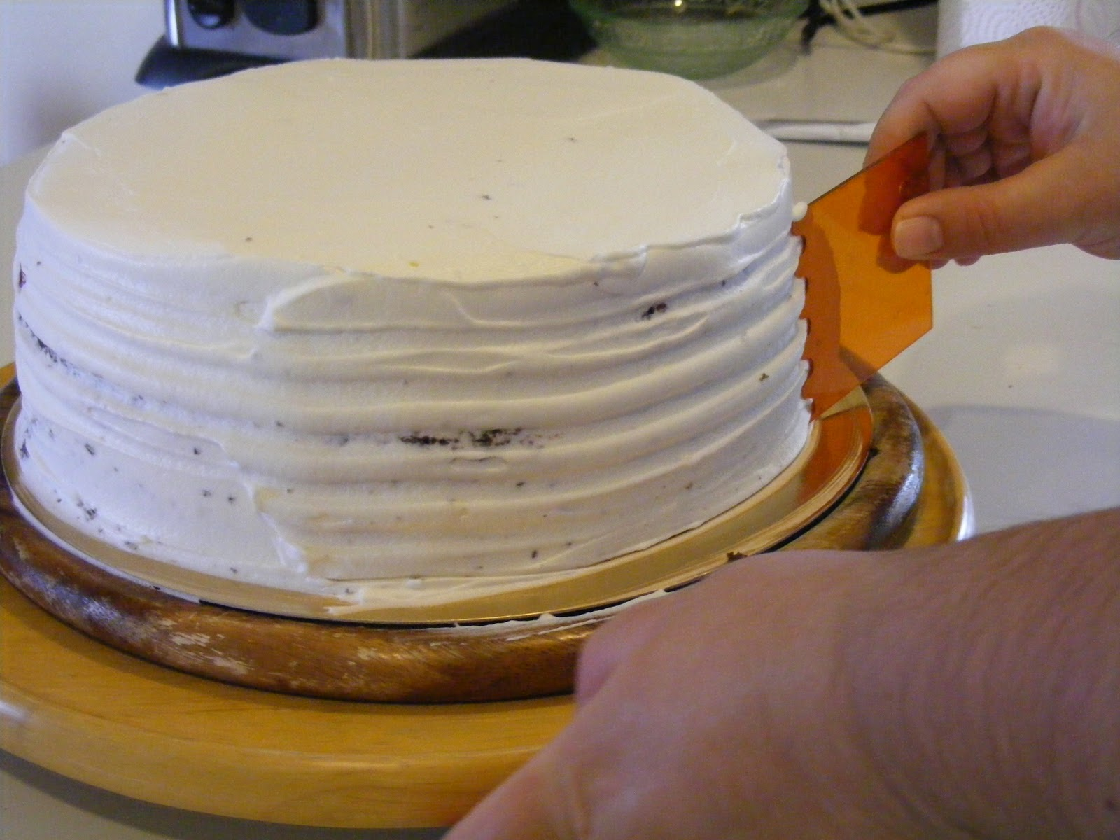 Layer cake fraises chocolat et chantilly au mascarpone5