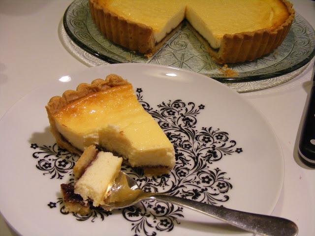 Tarte au fromage1