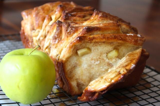 Brioche à éfeuiller pomme cannelle1