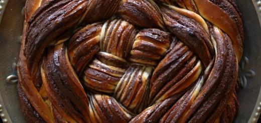 Brioche Babka au chocolat1