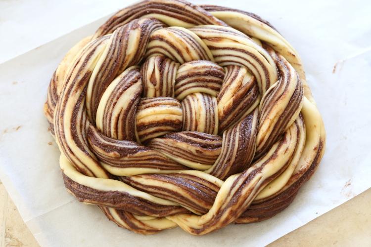 Brioche Babka au chocolat6