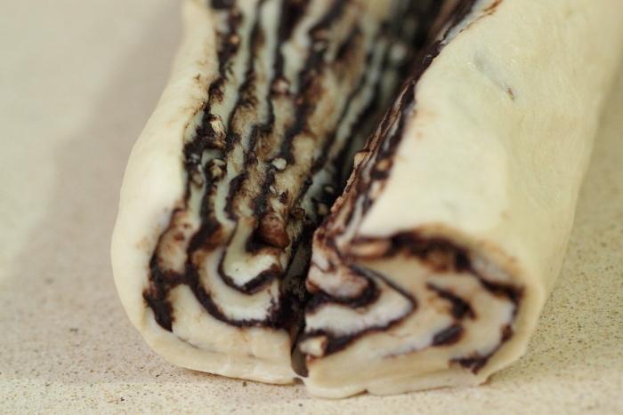 Brioche Babka au chocolat9