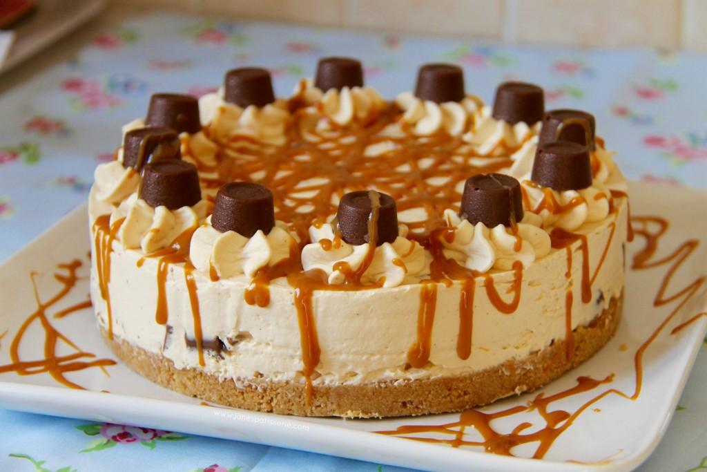 Cheesecake vanille et caramel beurre salé (sans cuisson)
