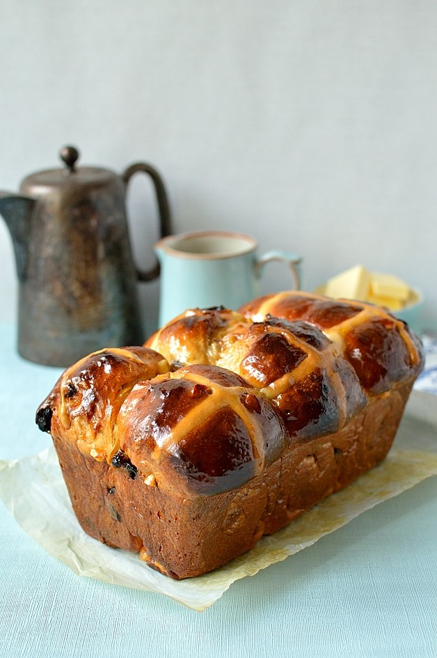 Hot Cross Buns traditionnels ou brioches de Pâques1