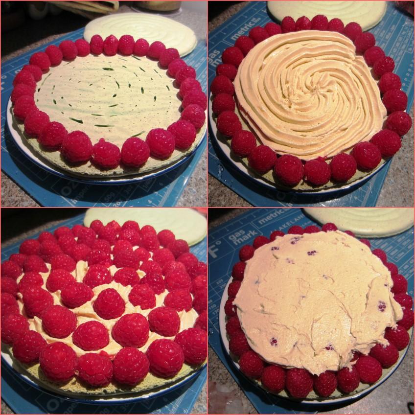 Macaron géant framboise pistache3
