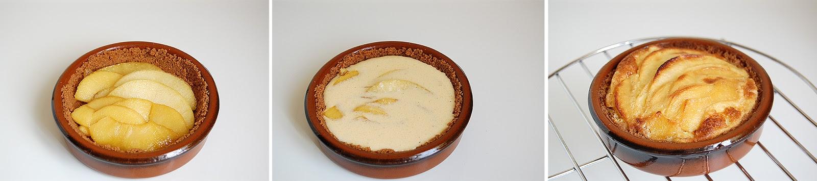 Tarte Clafoutis aux pommes8