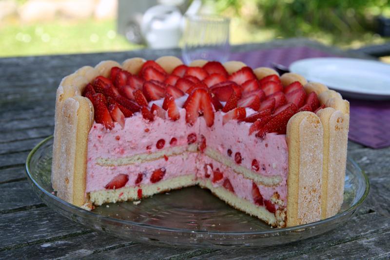 Charlotte aux fraises1