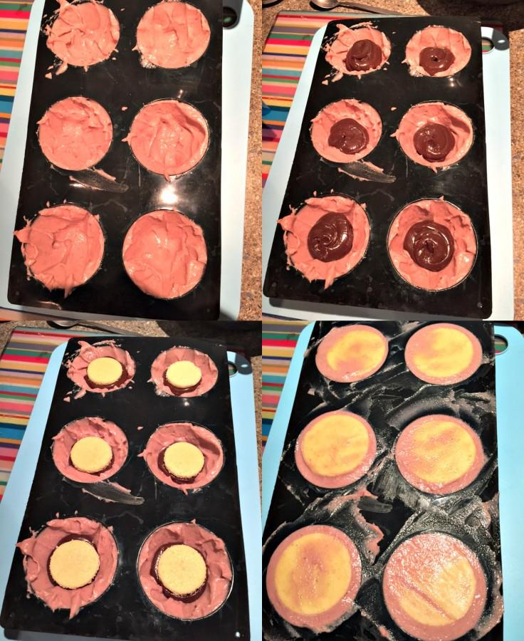 Dôme Fraise chocolat3