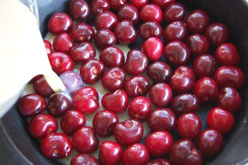 Clafoutis aux cerises, recette délicieuse5