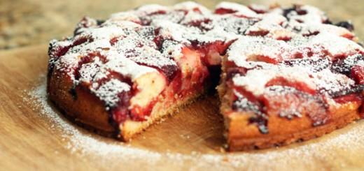 Gâteau Moelleux Aux Fraises1