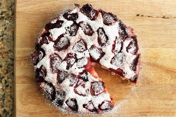 Gâteau Moelleux Aux Fraises6