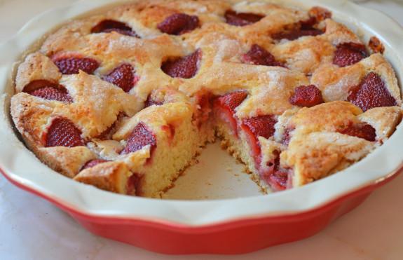 Gâteau aux Fraises1