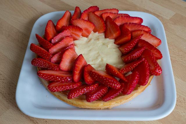 Tarte aux fraises9