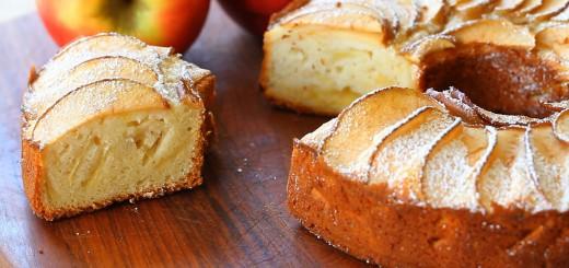 Gâteau aux pommes à l'ancienne1