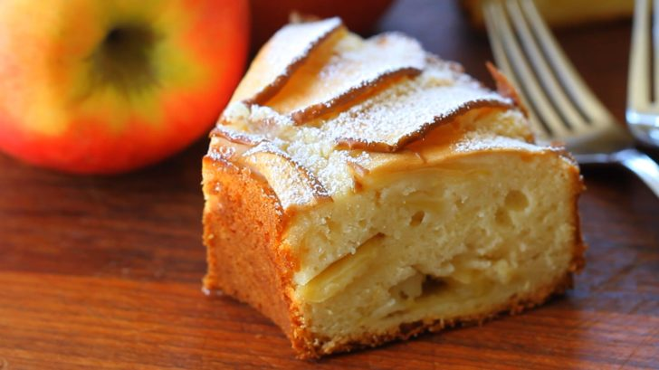 Gâteau aux pommes à l'ancienne2
