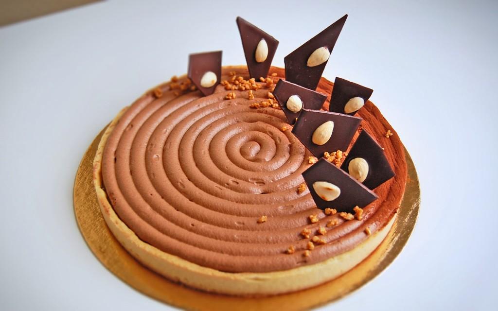 Tarte royale au chocolat1