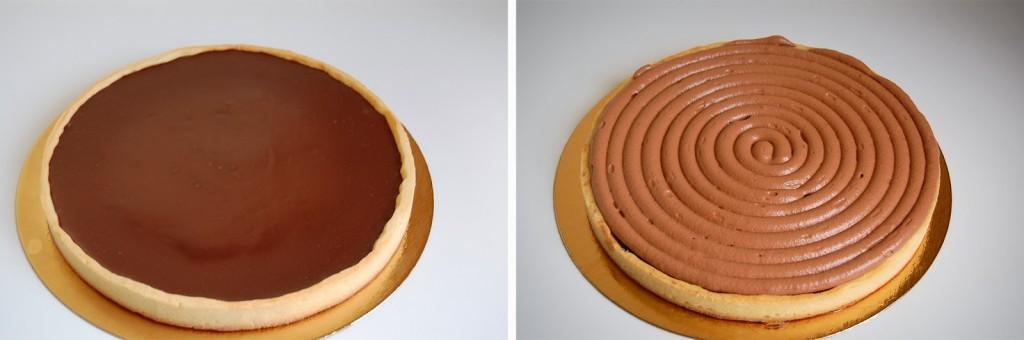 Tarte royale au chocolat11