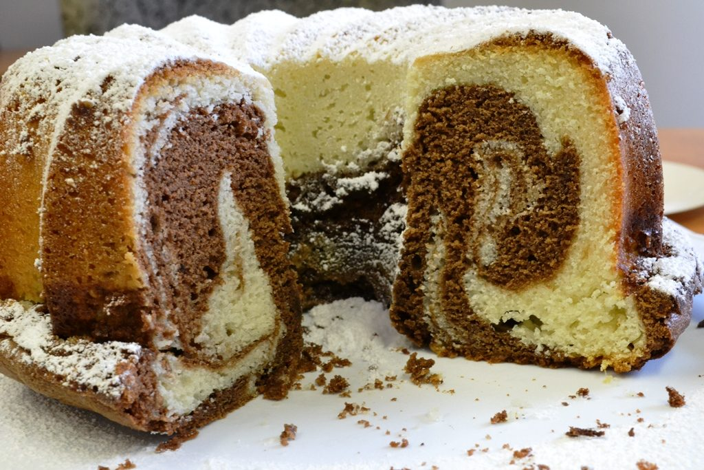 Cake Marbre Chocolat Vanille Ultra Moelleux Gateaux Delices