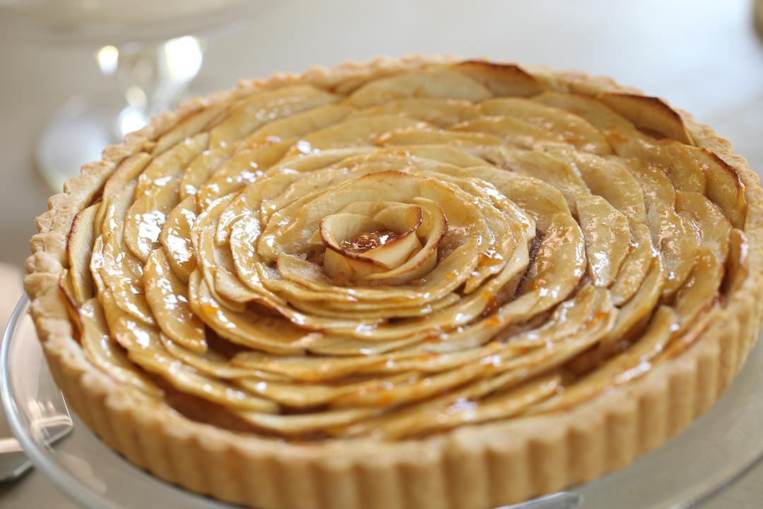 Tarte aux pommes fait maison g teaux d lices - Tarte aux pommes compote maison ...