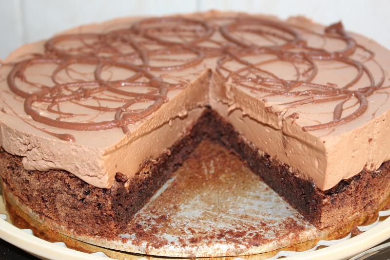 Gâteau Mousse Au Chocolat Facile Gâteaux Délices