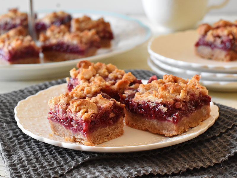 tarte crumble aux framboises g teaux d lices. Black Bedroom Furniture Sets. Home Design Ideas